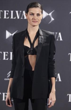 Isabeli Fontana en la fiesta TELVA.