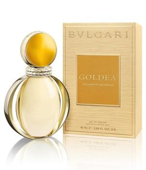 El nuevo perfume de Bvlgari: Goldea.