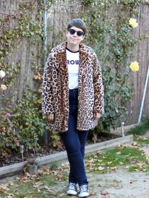 Cynthia Bagué muestra uno de sus looks en su blog.