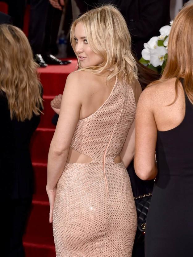 Globos de Oro 2016: los glúteos de Kate Hudson