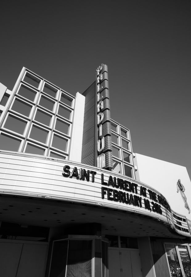 Imagen de Hollywood Palladium que ha compartido Saint Laurent.
