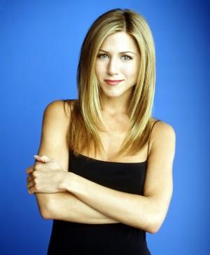 Jennifer Aniston promocionando la serie.