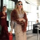 Las celebrities con abrigos de pelo (sintético)