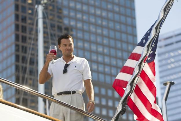 El actor en una escena de 'El lobo de Wall Street'.
