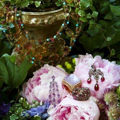 Inspiración para novias: joyas en rosa cuarzo