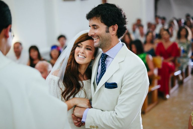 e9e87c6a5c Una boda en un escenario idílico  Formentera