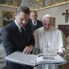 ¿De qué hablaron Leonardo DiCaprio y el Papa Francisco?