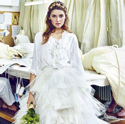 Esbozando el vestido de novia