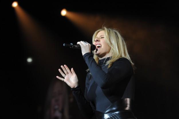 La cantante Ellie Goulding