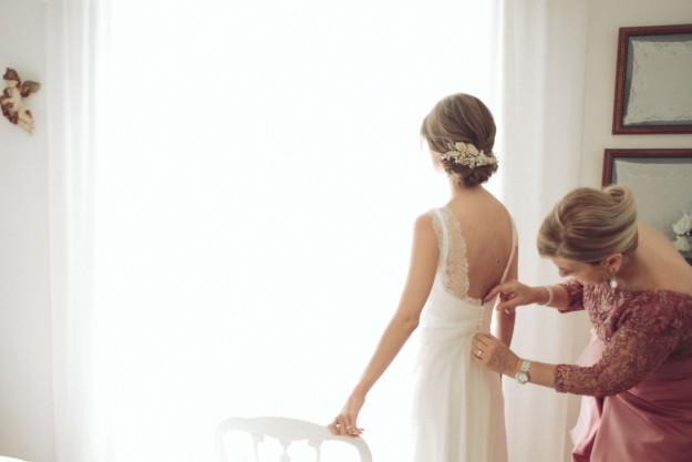 Vestidos de novia en boda y estilo