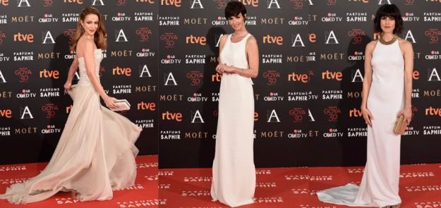 Silvia Abascal, Paz Vega y Nerea Barros