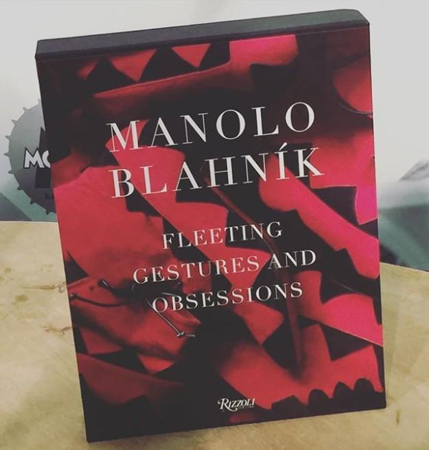 'Manolo Blahnik: Fleeting gestures and obsessions' editado por Rizzoli