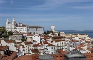 Magníficas vistas desde el Mirador de Santa Luzía.