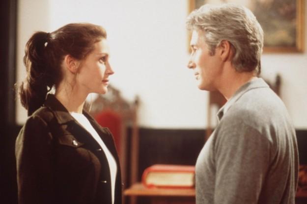 Los actores Julia Roberts y Richard Gere