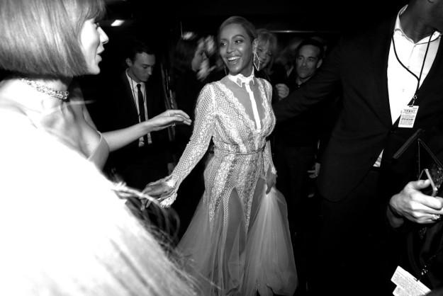 Queen Bey en la ceremonia de los Grammy 2015.