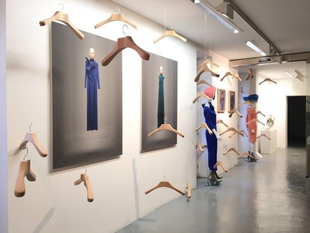 Maria Barros en la Galería Alvaro Alcázar.