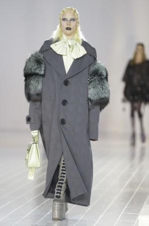 Lady Gaga desfilando para Marc Jacobs en la New York Fashion Week