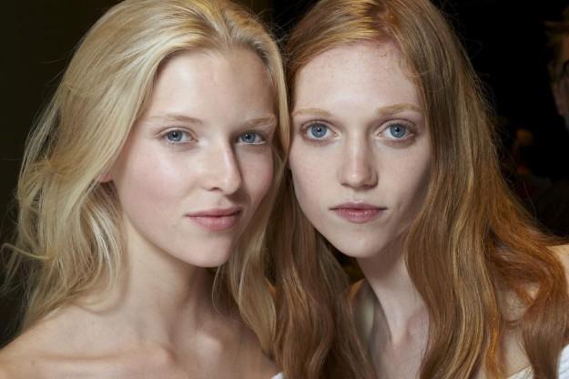 Los rostros naturales se llevarán esta temporada. Los hemos visto en el desfile de Gucci, entre otros.