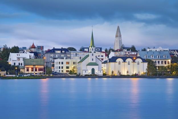 Vista de Reykjavik.
