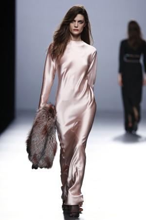 Vestido segunda piel haciendo honor al nombre de la firma, The 2nd Skin Co.