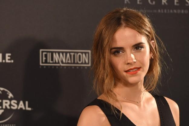 Emma Watson se aleja del cine durante un año.