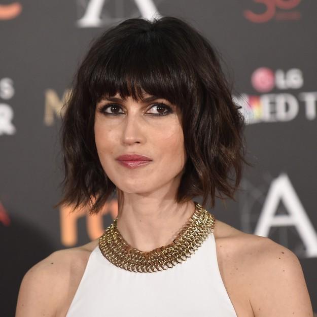 La actriz Nerea Barros en los Premios Goya.