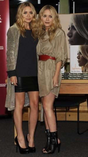 Las gemelas Ashley y Mary-Kate Olsen.