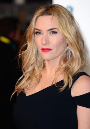 La actriz Kate Winslet durante los Premios Bafta 2016.