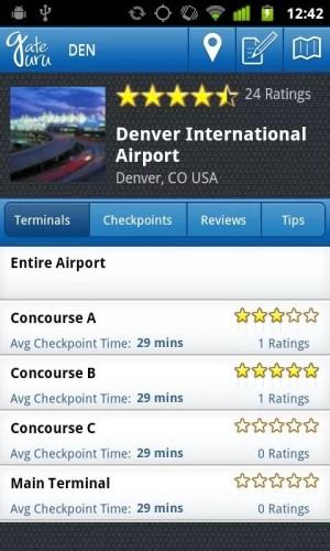 GateGuru, una guía completa sobre vuelos y aeropuertos.