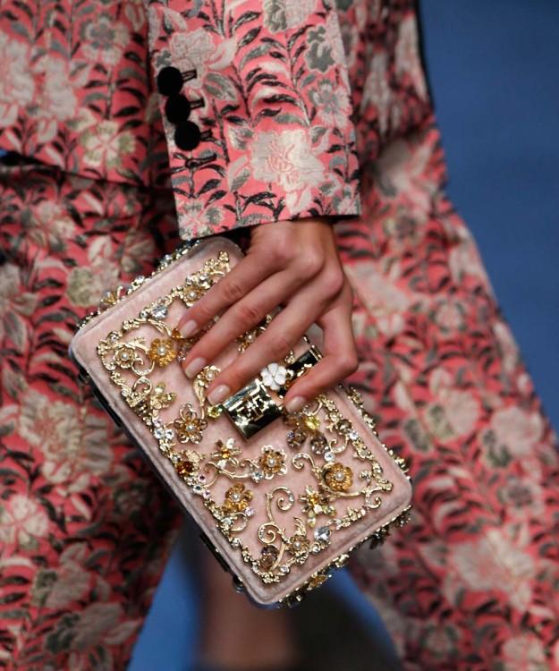Manicura nude de Dolce & Gabbana
