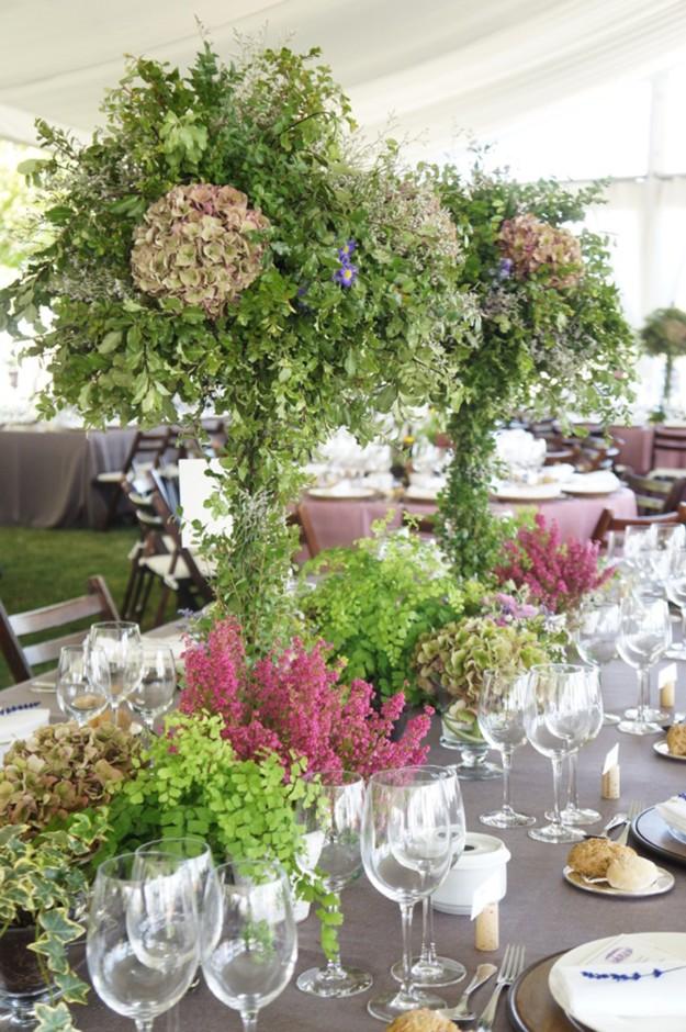 decoración florar boda