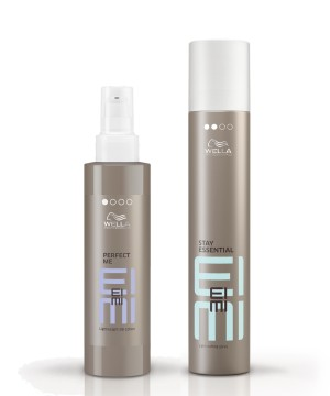 Perfect Me y Laca Stay Essential de Eimi de Wella Professionals
