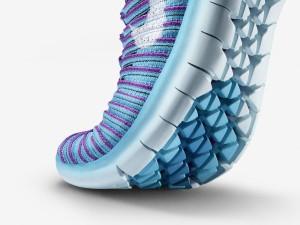 Detalles de la suela de la nueva Nike Free RN Motion Flyknit.