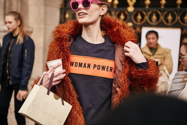 Las calles se llenan de mensajes feministas.