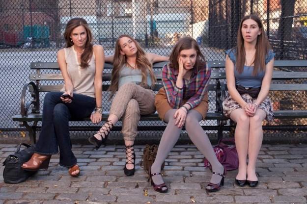 Protagonistas de la serie Girls