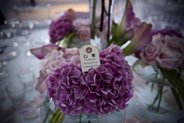 Centro de mesa con hortensias: sencillo pero con mucho encanto, de Bourguignon.
