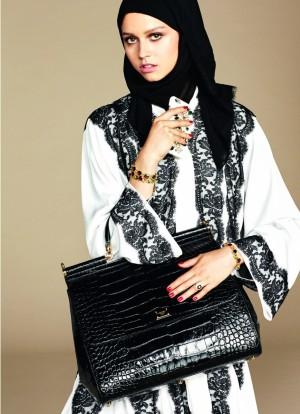 Imagen de la colección Abaya de Dolce & Gabbana.