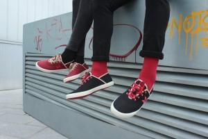 Modelos de la primera colección de Madz Footwear.