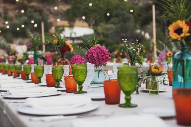 mesa alargada de ceremonia