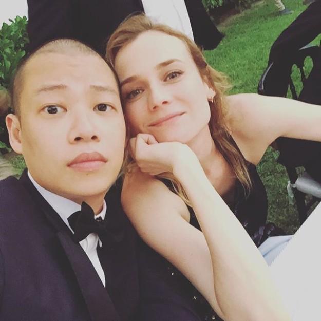 Jason Wu con Diane Kruger.
