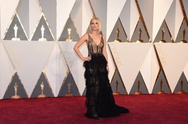Jennifer Lawrence en la última ceremonia de los Premios Oscar.