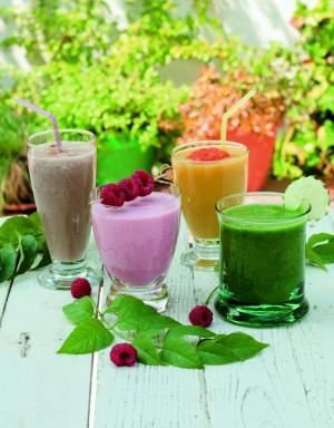 Los batidos o smoothies saludables de frutas y verduras de Isasaweis