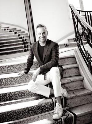 Francisco Costa en Cannes, en un encuentro con TELVA hace un año.