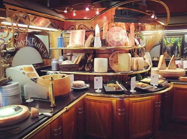 El mayor buffet de quesos del mundo.