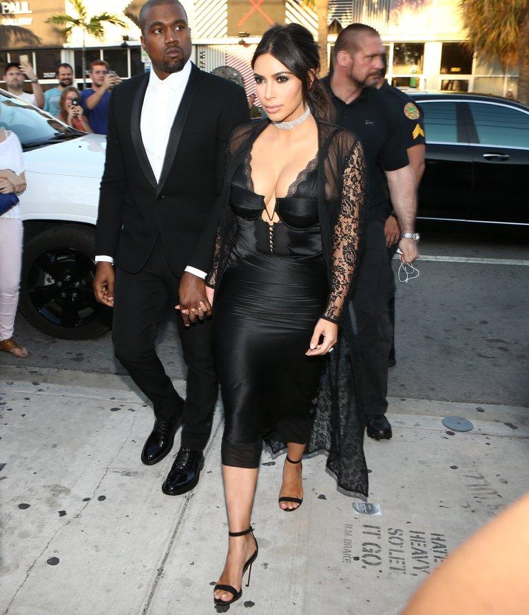 Vestido de boda de kim kardashian con kanye