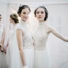 Inspiración para novias: en el backstage de José María Peiró