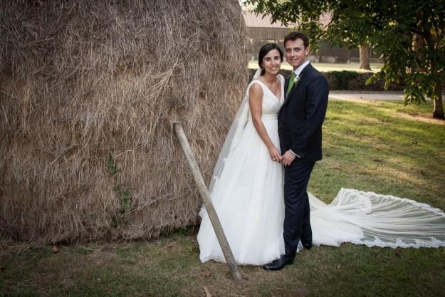 Para el reportaje de boda, los novios contaron con los profesionales de Visual tv.
