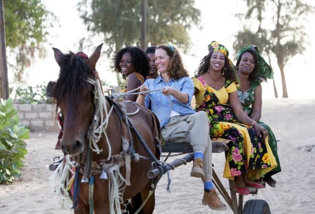 Blanca Suelves vivió de primera mano el trabajo de Kssumay en Senegal.