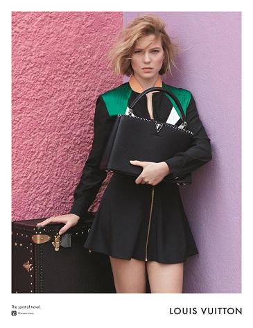 Campaña de la colección Pre-fall 2016 de Louis Vuitton.