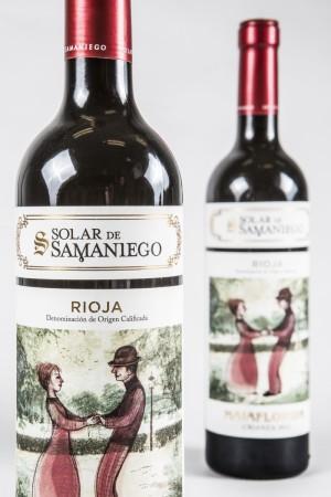 Majaflorida Rioja Crianza 2012, Solar de Samaniego.